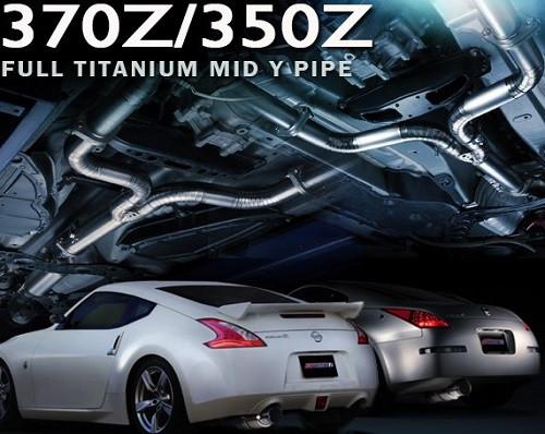 TOMEI Expreme Ti Titanium Mid Y-Pipe Nissan 350Z & 370Z