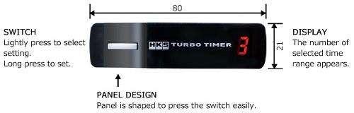 HKS Turbo Timer 10th Anniversary Edition