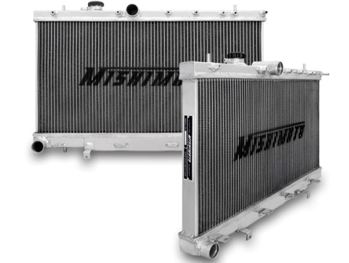MISHIMOTO Aluminium Kühler für Subaru Impreza WRX STi 01-07