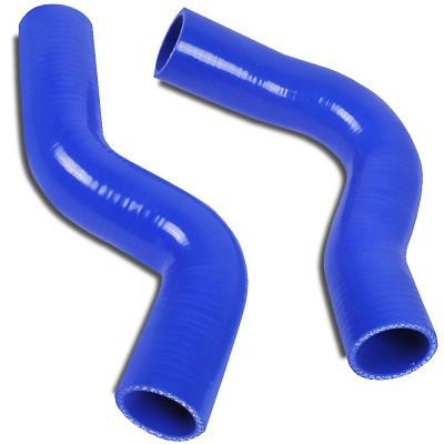 JAPSPEED Wasser-Kühler Silikon Schlauch Set für Subaru Impreza GC8