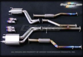 """GREDDY """"Racing Titanium"""" Abgasanlage für Lexus IS-F"""