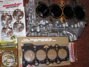 """Monster Sport """"M19 Bore-UP Piston & Cylinder Block Kit"""" Suzuki Swift Sport 05-11"""