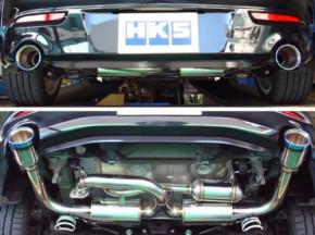 "HKS ""Legamax Premium"" Abgasanlage für Mazda 3 MPS BL"