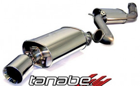 "TANABE ""Medalion Touring"" Cat Back + Downpipe für Toyota Supra Turbo 93-98"
