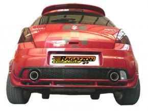 RAGAZZON Sport-Endschalldämpfer für Suzuki Swift 1,6