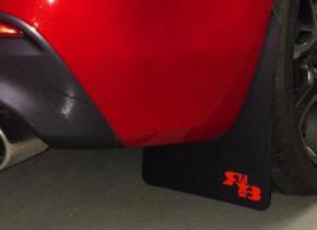 ROKBLOKZ Mazda 3 MPS BL Rally Mud Flaps
