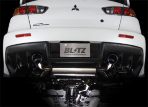 """BLITZ """"Nür Spec C-TI"""" Abgasanlage für Mitsubishi EVO X"""
