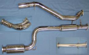 CorkSport Turbo-Back Abgasanlage für Mazda 3 MPS 06-08