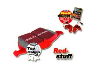 """EBC Sport-Bremsbeläge """"Redstuff"""" für VA Toyota MR2 W2/SW20"""