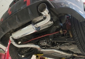 "Perrin Performance Cat Back"" Abgasanlage für Subaru Impreza WRX 08-10"