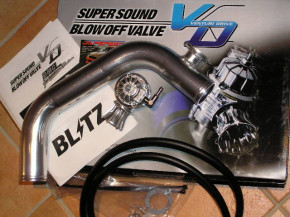 BLITZ Venturi Drive SuperSound Blow Off Ventil Kit für Nissan 200SX S14