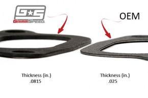 GRIMMSPEED Intercooler Y-Pipe Dichtungen Set Subaru WRX 02-07 & STi 04-15