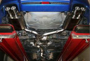 BASTUCK Abgasanlage für Subaru WRX STI Stufenheck
