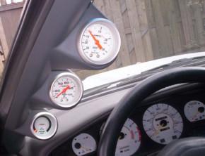 Lo-Tek A-Säulenhalterung 3-fach für Toyota Supra MKIII
