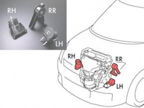"""MONSTER Sport """"Reinforced Engine & Transmission Mount"""" Suzuki Swift Sport 05-11"""